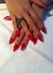 Nailzone Queen Street - Long Red