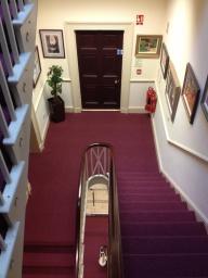 Commercial Contract Carpet Hallway