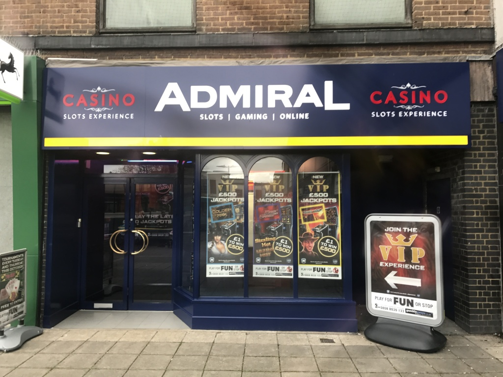 Admiral Casino Stevenage In 7 Town Square 7 Town Square
