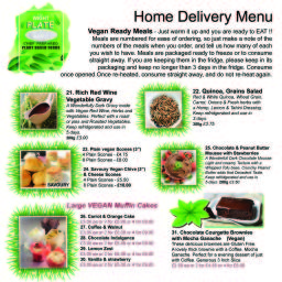 Isle of Wight Vegan Food Delivery