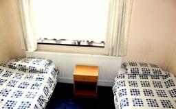 Twin room at Heathrow Lodge