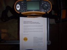Electrical Calibration Certificate
