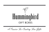 Hummingbird Gift Boxes