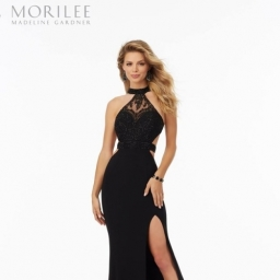 A beautiful gown from our Mori Lee collection
