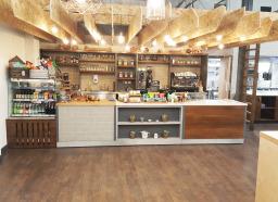 Retail Counter for Marlows Garden Centre Cafe