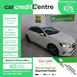Used Mercedes A Class on Finance