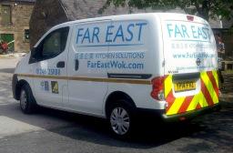 Far East gas safe van