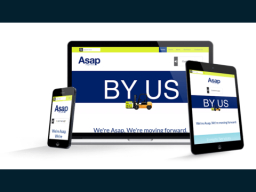 Responsive Website | Asap Freight Works