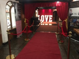 Slinkies Events Limited Wedding Red Carpet Entranc