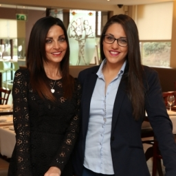 Owner  Founder of Spaghetti Tree, Maria, with Manageress Dana