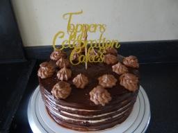 chocolate caramel cakes