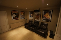 A cinema room like this, with outstanding sound and image quality needn't cost the earth.