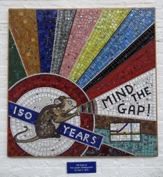 London School Mosaic: Squared Circle Mosaic Studio