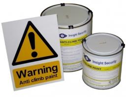 Anti-climb paint (black, grey & white colour options)