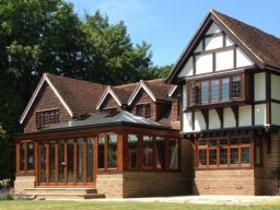Seasoned Oak Orangery in Ewhurst, Surrey