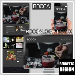 Bocca Website Design