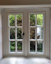 Flush casement window; Admiral Windows Oxford