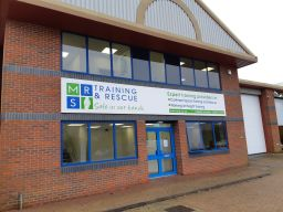 Exterior of MRS Training & Rescue in Southampton