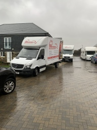 Removal - Newquay - Southampton in Storm Denis