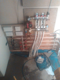 New Worcester oil boiler installation cuddington n