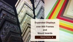 Hundreds of Frame and mount choices
