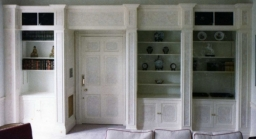 "A new bookcase in a ""period"" house remodelling in Odiham"