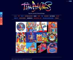 Tim Davies Pop Art