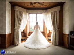 Bride at Wood Norton Hotel