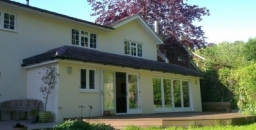 An extension project on a 70's house in Haslemere