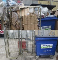 Retail waste clearance