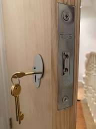 High security TSS  lock installed