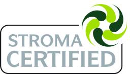 We are accredited and certified through Stroma