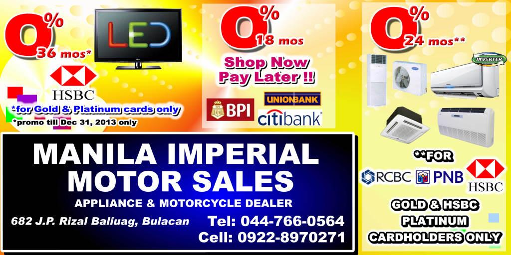 Manila Imperial Motor Sales 109 Veronica Street, Manila, MNL