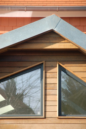 Sow Space Croft Road extension cladding detail