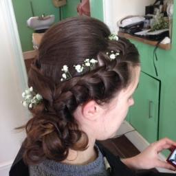 Wedding Flower Girl Hair Birmingham