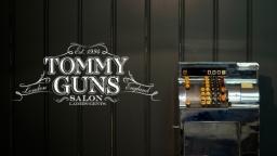 Tommy Guns branding