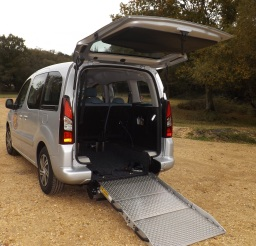 our wheelchair accessible vehicle