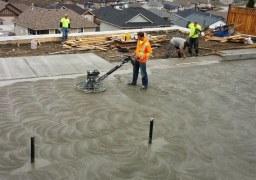 Polished Concrete service for car parking