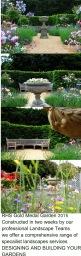 Constructing Award winning Gardens at RHS Shows