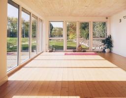 Welcome home, at Aruna Yoga Studio.