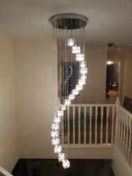Large decorative landing light