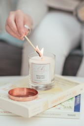 Relaxing Serenity Scented Candle