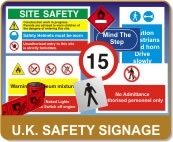 UK Safety Signs Suppliers