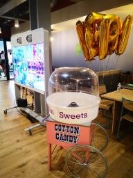 Candy floss cart hire london