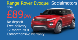 Range Rover Evoque - Used car finance Socialmotors