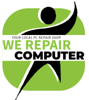 WE REPAIR COMPUTERS