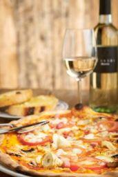 Angelo Pizza - tomato, mozzarella, mushrooms, arti