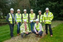 The CLPM Building Project Management Team