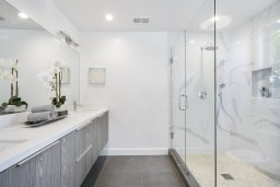 modern bathroom installed in worcester england