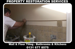 tiling division edinburgh, property restoration